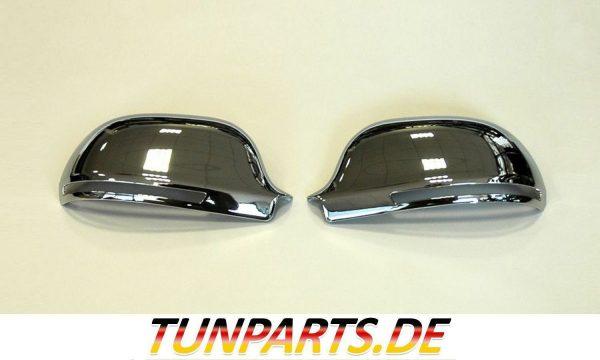 S Look Spiegelkappen Chrom für Audi