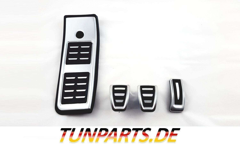 Pedale Pedalkappen Pedal Set für Audi A4 B8 A5 A6 C7 A7 A8 Q5 RS Edelstahl NEU