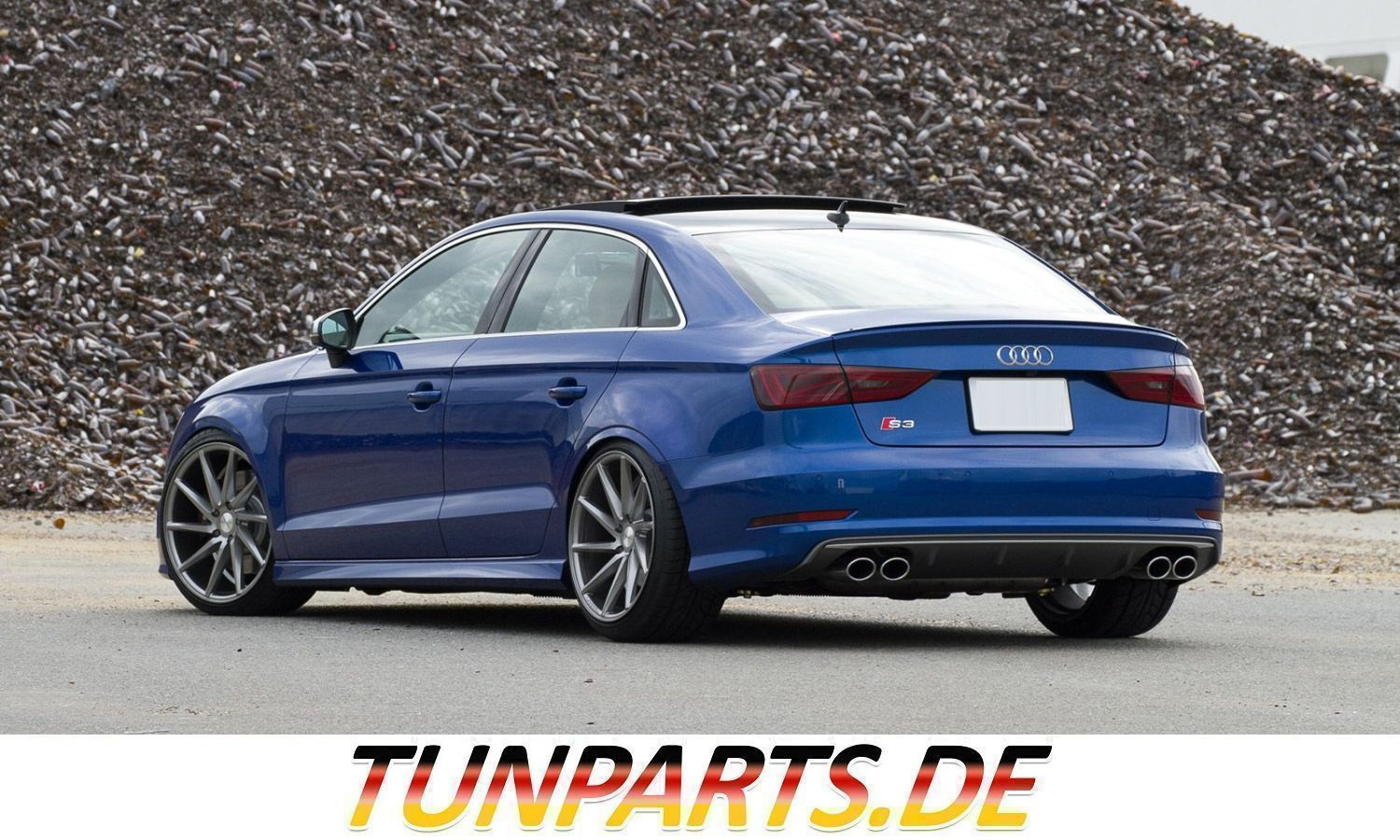 Diffuser For Audi A3 8v Before Facelift Sedan Tunparts Online Shop