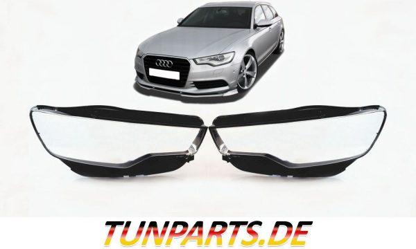Audi Scheinwerfer Glas für A6 C7 4G vor Facelift