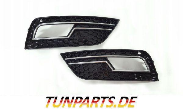 RSNebelscheinwerfer Blenden für Audi A4 Facelift