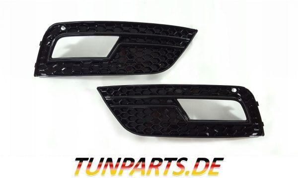 Nebelscheinwerfer Blenden RS Look für Audi A4 B8