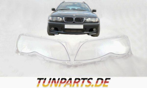 BMW E46 Scheinwerfer Linsen