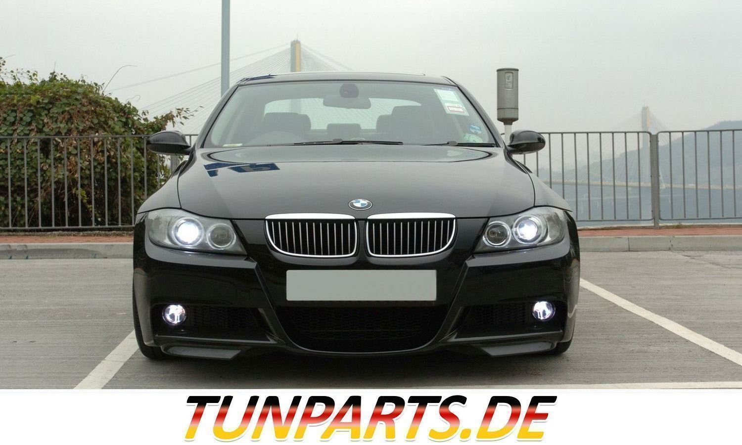 gt splitter flaps f r bmw e90 e91 bei tunparts g nstig. Black Bedroom Furniture Sets. Home Design Ideas