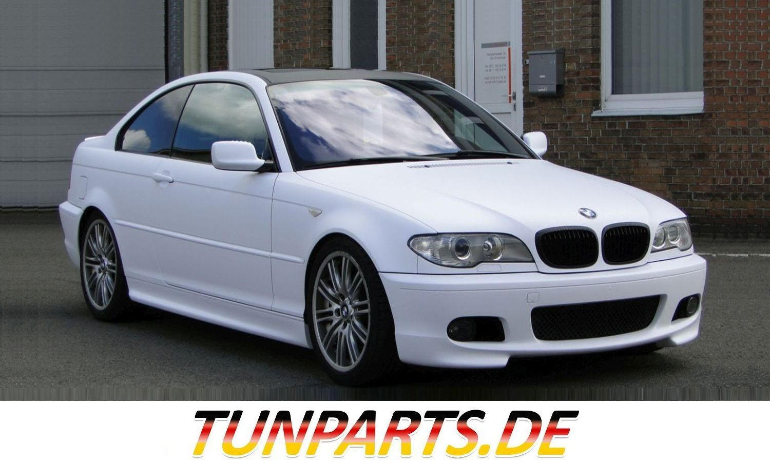 M Tech Body Kit For Bmw E46 Coupe Cabrio